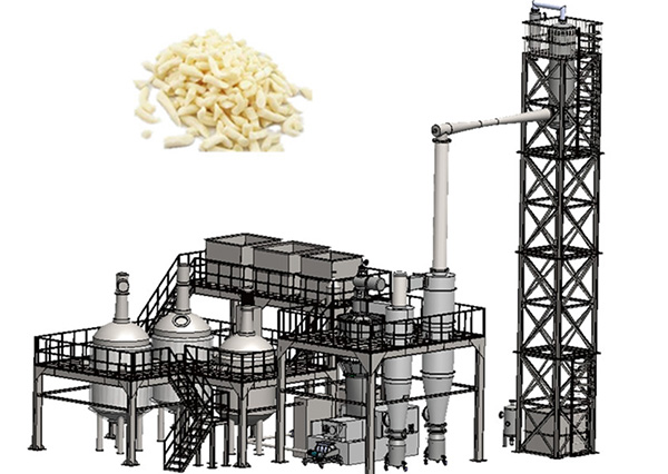 Soap Saponification and Vacuum Drying System